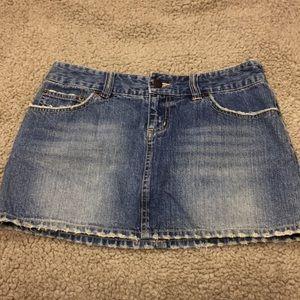 Aeropostale Jean Skirt Size 1/2